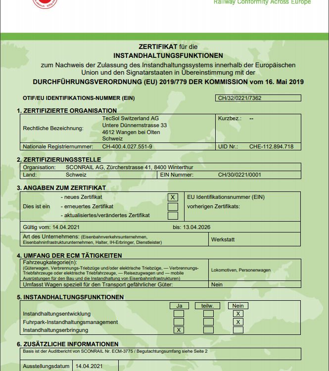 ECM Zertifikat Beitragsbild